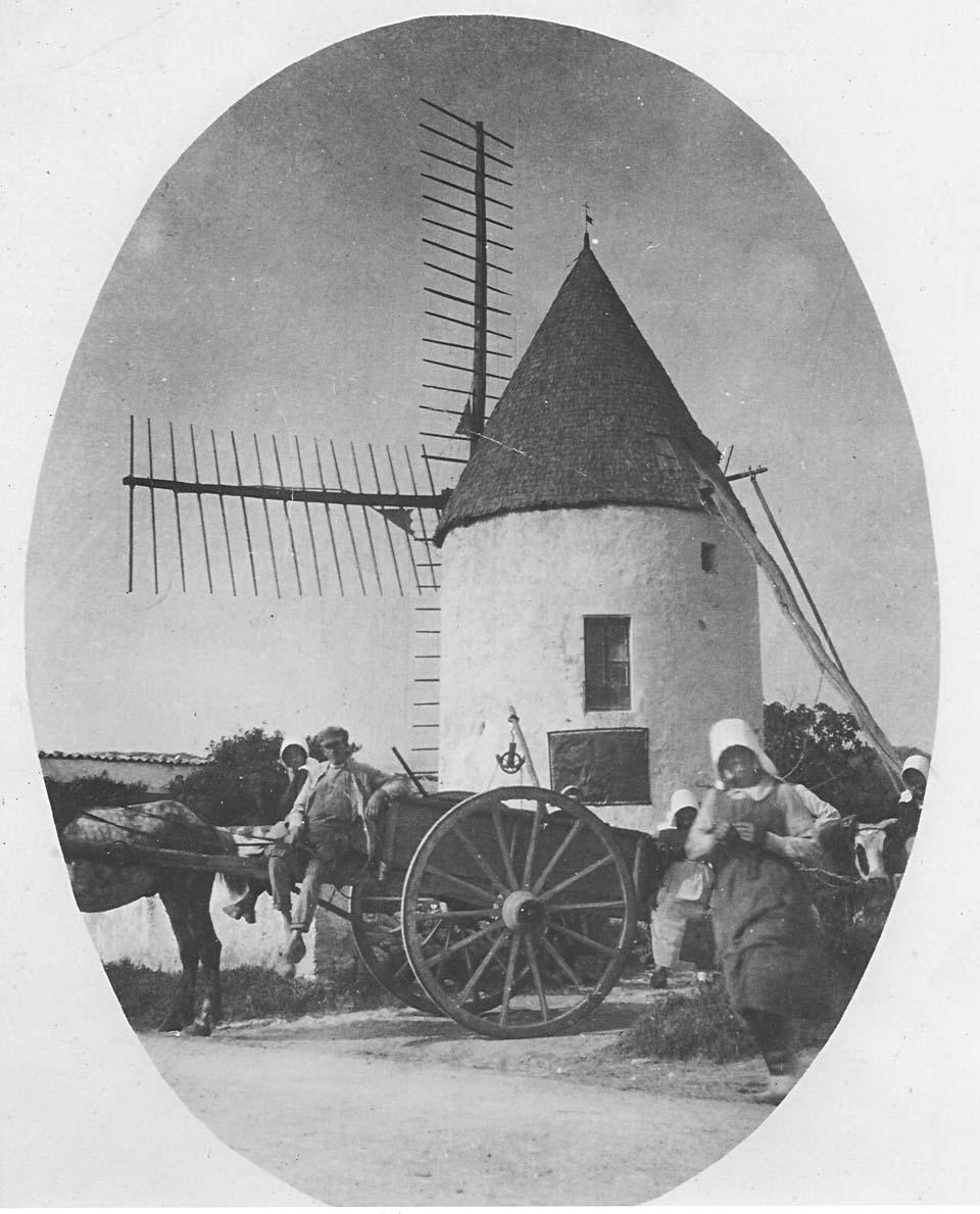 L'un des moulins de Saint-Denis - Source : association AIDA